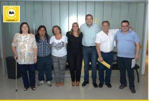Los 7 miembros de la Junta Comunal 7.